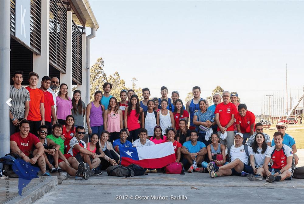 Delegación chilena (Foto Oscar Muñoz)