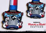 Ya hay medallas para el Rock'n'Roll Half Marathon Santiago 2018!!