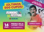 """Este fin de semana se viene la segunda edición del """"Running Festival"""""""