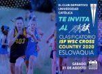 Abierta la convocatoria para las clasificatorias al Mundial Escolar ISF de Cross Country