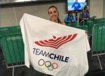 Fernanda Mackenna lo dio todo en los 400 metros planos