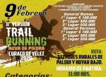 Trail running Agua de Piedra prepara su 11ª versión