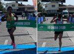 Cristóbal Tessada y Verónica Angel se llevan la edición 11 de la Media Maratón de Valdivia 2020