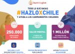 Burn to Give lanza campaña caritativa #HazloXChile contra el Covid-19