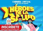 Participa en la carrera por los Héroes de la Salud!!