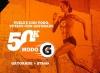 Súmate al segundo reto #ModoGatorade 50K junto a Strava!