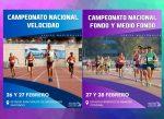 Se vienen los campeonatos nacionales de Fondo, Medio Fondo y Velocidad