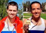 María Fernanda Mackenna y Sergio Germain campeones nacionales en 400 metros planos