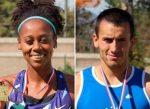 Rafael Muñoz y Berdine Pierre campeones nacionales en 800 metros planos