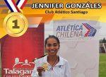 Jennifer González campeona nacional de 10.000 metros