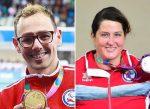 La para atleta Francisca Mardones y el para nadador Alberto Abarza serán los abanderados de Chile en los Juegos Paralímpicos Tokio 2020