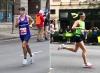 Álvaro Montoya y Magdalena Chamorro los mejores de los 116 chilenos en el Maratón de Chicago